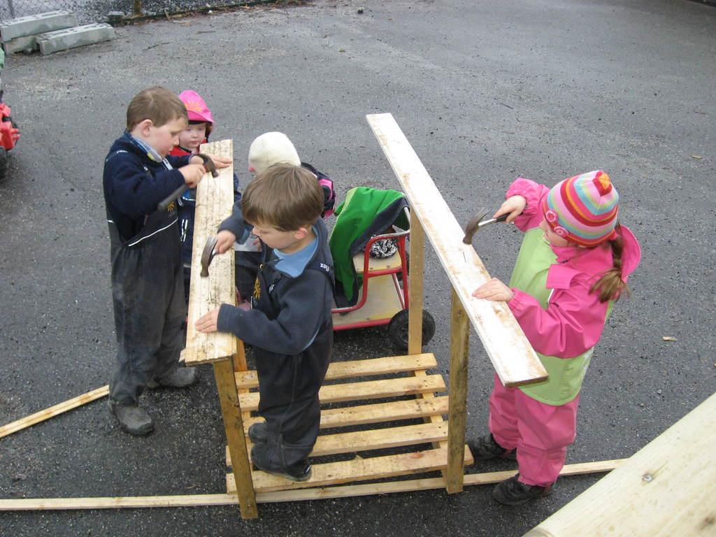 Bygge med barn