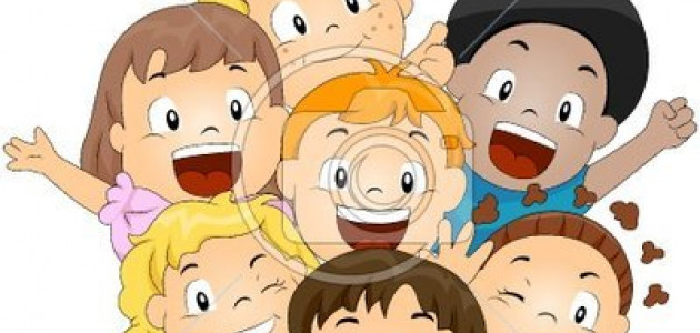 happy-children-group-vector-vector-82893947