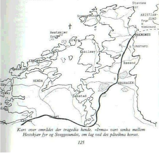 kart over averøya